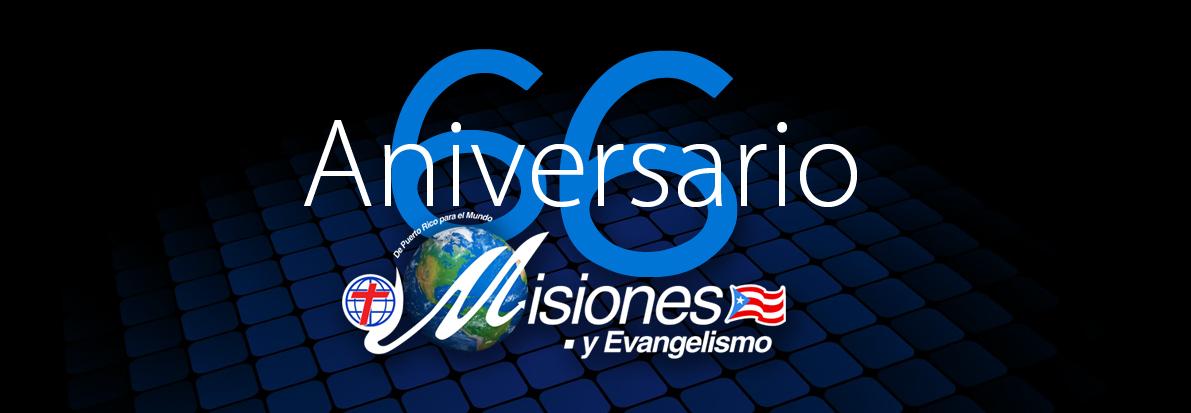 Aniversario  66 Del Departamento de Misiones Región de Puerto Rico